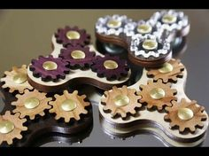 Triple Planetary Gear Fidget Spinner Hand Spinner Toy - YouTube