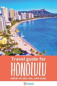 Honolulu Travel Guide - if you are planning a trip to Hawaii, check out this guide on things to do in Honolulu, Oahu. Honolulu Travel Guide - if you are planning a trip to Hawaii, check out this guide on things to do in Honolulu, Oahu. Hawaii Hotels, Hawaii Vacation, Hawaii Travel, Solo Travel, Travel Usa, Vacation Ideas, Hawaii Things To Do, Honolulu Hawaii, Travel Goals