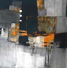 Torch - abstract by Peter Pharoah, inspired by the Olympic Torch. His oils are inspired by Africa, the land and its people.