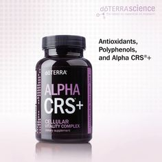 Antioxidants, Polyphenols, and Alpha CRS+