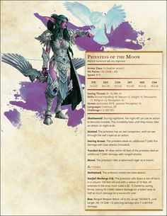 Warcraft III: Conversion (Combined) - picture for you Dungeons And Dragons Characters, D&d Dungeons And Dragons, Dnd Characters, Dnd Stats, Moon Elf, Dnd Dragons, Dnd 5e Homebrew, Dragon Rpg, Dungeons And Dragons Homebrew