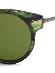 Round-frame acetate sunglasses | Bottega Veneta | MATCHESFASHION.COM