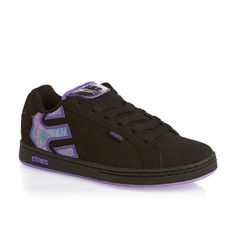 Etnies Fader W'S Shoes - Black/Black | Free UK Delivery and Returns