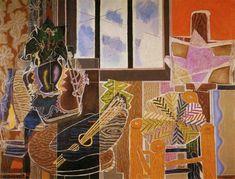 El estudio, 1939 - Georges Braque. Cubismo , Expresionismo
