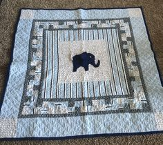 Dax's tummy time quilt 2016