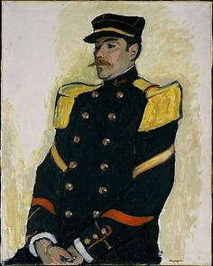 Albert Marquet (French, 1875–1947). Sergeant of the Colonial Regiment, 1906–7. The Metropolitan Museum of Art, New York. Robert Lehman Collection, 1975 (1975.1.192) #mustache #movember