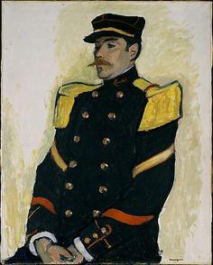 Albert Marquet (French, 1875–1947). Sergeant of the Colonial Regiment, 1906–7. The Metropolitan Museum of Art, New York. Robert Lehman Collection, 1975 (1975.1.192) #mustache #movember