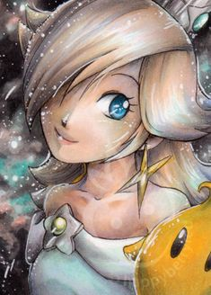 Rosalina star by ~happyberryred on deviantART