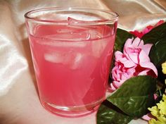 Rose Petal Iced Tea from Food.com: This iced tea is amazing - it smells, looks & tastes divine! This is easy to make, please don't be put off by the time it takes for the rose flavours to infuse.... Time to make doesn't include, chilling or resting time!