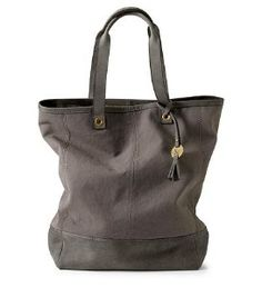 * Canvas/Leather Tote   review   Kaboodle