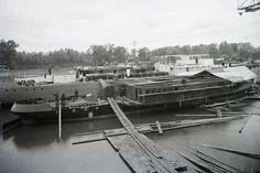 Magyarország, »Épülő MFTR VERECKE (1939) kerekes g... | Képcsarnok | Hungaricana