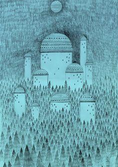 Castle - Sigrid Rødli Illustration