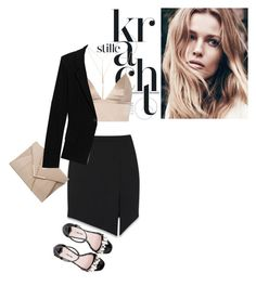 """I fly like paper"" by perilousness-fashion ❤ liked on Polyvore featuring mode, Yves Saint Laurent, T By Alexander Wang, Miu Miu, Wet Seal et Donna Karan"