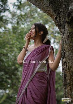Lace Saree, Cotton Saree, Sari, Indian Blouse, Indian Wear, Block Print Saree, Saree Poses, Saree Photoshoot, Saree Blouse Designs