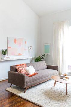 Mid Century Modern Living Room Decor Ideas 11 - Home Decor