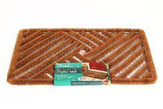 Adorn - Felpudo, diseño de rayas, color marrón: Amazon.es: Hogar. Material acero y fibra de coco. 24,77€.