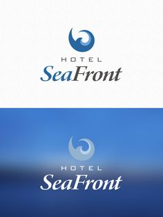 Logo design for Hotel SeaFront - Tammisaari by Pennanen Design Ui Design, Graphic Design, Over The Years, Company Logo, Logos, User Interface Design, Logo, Visual Communication, Legos