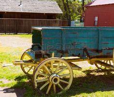 California Columbia kocsi egy igazi régi nyugati aranyláz város az USA-ban photo