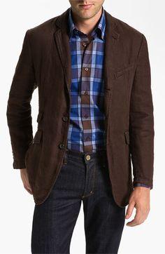 Robert Talbott 'Ventana' Linen Sportcoat   Nordstrom