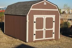 10 x 16 Lofted Classic - Painted (Brown/Taupe)