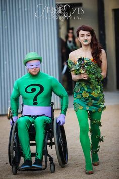 As was The Riddler and Poison Ivy.