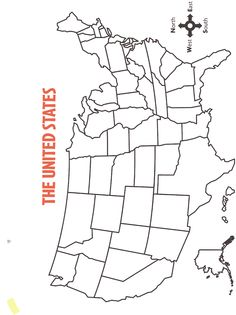printable map of usa with states names. also comes in
