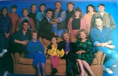 Neighbours cast photo