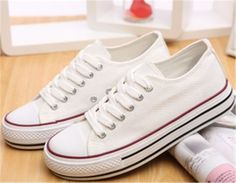 Womens-Stylish-Ladies-Canvas-Lace-Up-Plimsolls-Sneakers-Trainers-Shoes