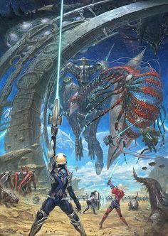 小城 崇志|ギャラリー|『XenobladeX(ゼノブレイドクロス)』公式ホームページ