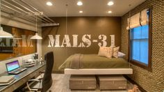 Creating an Army Bedroom Military Bedroom, Army Bedroom, Boys Army Room, Camo Rooms, Army Decor, Extreme Makeover Home Edition, Bedroom Themes, Bedroom Ideas, Room Pictures