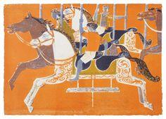 Printmaker Robert Tavener = another big art crush Art For Art Sake, Equine Art, Printmaking, Vintage Art, Illustration Art, Art Prints, Drawings, Horses, Painting