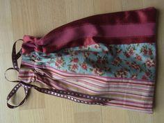 Færdigsyet stofpose med for og løbegang