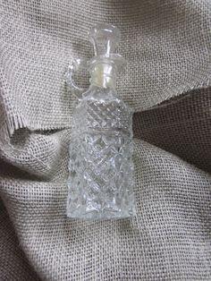 SHABBY CHIC DECOR  Perfume Bottle by ItseeBitsee on Etsy