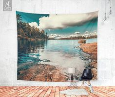 Decorate your wall with this beautiful and popular wall tapestry by HappyMelvin.  - available three sizes 51 x 60 , 68 x 80 , 88 x 104 - 100%