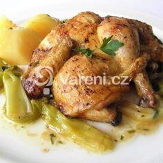 Fotografie receptu: Pečená francouzská mini kuřátka