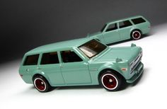 the Lamley Group: The 2013 Boulevard '71 Datsun 510 Wagon, the godfather of the Hot Wheels JDM craze...