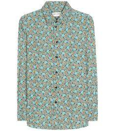 Saint Laurent Floral-printed Shirt | MYTHERESA USA saved by #ShoppingIS