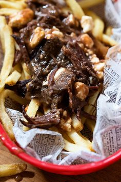 Beer Braised Short Rib Poutine _ Bakers Royale copy