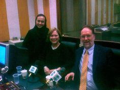 When Carol Ann Riordan and I visited Riyadh, Saudi Arabia, in 2008, we appeared on an English-language radio talk show.