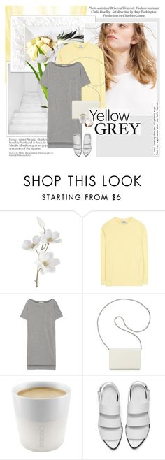 """Her touch was so soft and pure i could almost see flowers grow on my skin"" by aane1aa ❤ liked on Polyvore featuring Pier 1 Imports, Acne Studios, T By Alexander Wang, Nine West, Eva Solo, Alexander Wang and yellowandgray"
