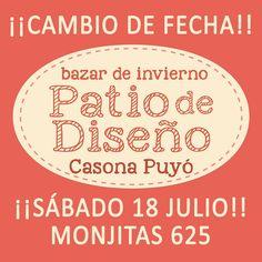 Bazar de Invierno de Patio de Diseño, Barrio Bellas Artes, Santiago. 18.07.2015