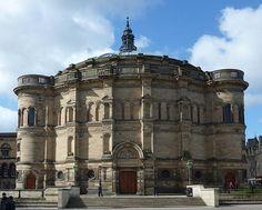 University of Edinburgh McEwan Hall Edinburgh Sights, Travel Around The World, Around The Worlds, Edinburgh University, Castle On The Hill, Moving To Canada, Historical Architecture, Europe, Vacation Spots