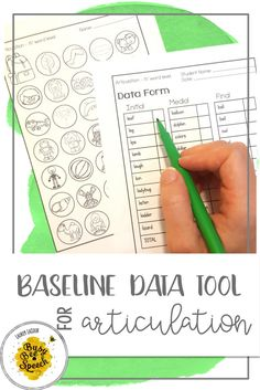 Collect articulation baseline data quickly and easily this back to school season. Probes for words, sentences, and readings are included as well as progress monitoring forms for the SLP.