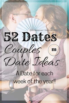 When date night feels like mission impossible it's time to try 52 Dates for Two. You'll be able to plan, schedule, and ENJOY date night again, no pressure. http://www.lotanner.com/52-dates-for-two @mrslotanner