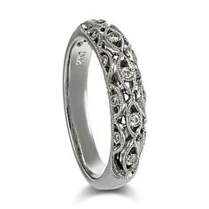 14K_White_Gold_Round_Diamond_Band,_0.11_cttw for an anniversary gift one year?