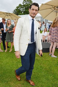 David Gandy - Kent and Curwen Royal Charity Polo Cup, Berkshire - July 19 2014