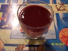 Recette de Panna cotta au coulis de fruits rouges