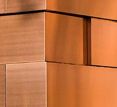 metal facade cladding: copper TECU® BOND KME