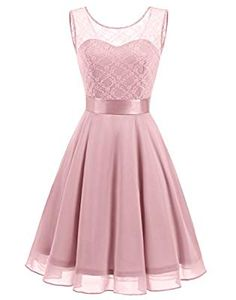online shopping for BeryLove Women's Short Floral Lace Bridesmaid Dress A-Line Swing Party Dress from top store. See new offer for BeryLove Women's Short Floral Lace Bridesmaid Dress A-Line Swing Party Dress Short Lace Bridesmaid Dresses, Cute Prom Dresses, Grad Dresses, Mothers Dresses, Dresses For Teens, Homecoming Dresses, Pretty Dresses, Dress Outfits, Beautiful Dresses