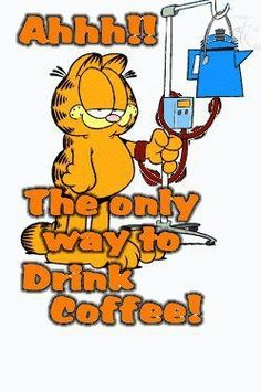 Direct caffeine injection.....Just what I need in the morning...........